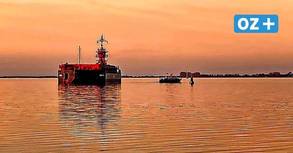 Maschinenausfall bei Schlepper: Fahrrinne zum Wismarer Hafen blockiert