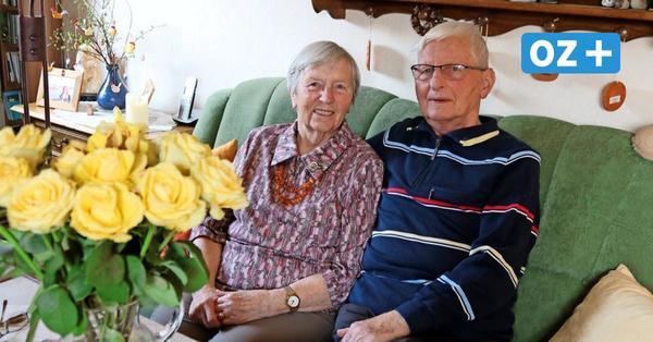 Gnadenhochzeit in Neukloster: Ehepaarbegeht seltenes Jubiläum