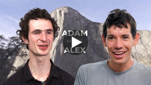 Adam Ondra and Alex Honnold talk   Sport climbing and big walls climbing
