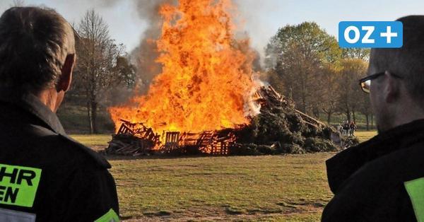 Osterfeuer in Nordwestmecklenburg: Was ist erlaubt und was nicht
