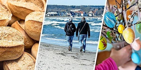Kontaktregeln, Wetter und Bäcker-Öffnungszeiten: Alles, was Sie zu Ostern wissen müssen