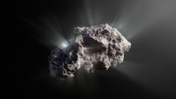 """Komet Borisov: Interstellarer Gast ist außergewöhnlich """"frisch"""""""