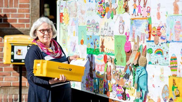 Osterpostfiliale: 100 000 Kinder schreiben an Hanni Hase