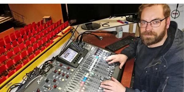 Neuer Tontechniker der Vorpommerschen Landesbühne hat die Welt umrundet