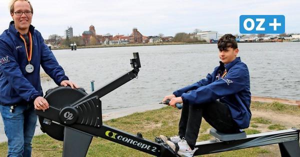 Elfjähriger Wolgaster holt Deutschen Meistertitel im Ergometer-Rudern