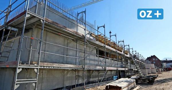 So sieht's auf der Baustelle Bildungscampus in Ribnitz aus