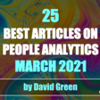The Best HR &People Analytics Articles of March 2021