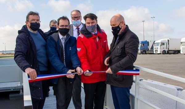 Le port de Dunkerque s'équipe d'un point de contact unique à la frontière pour optimiser les contrôles - Douanecontrole wordt vlotter in haven Duinkerke