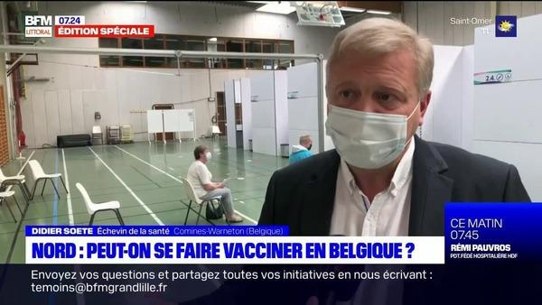 Les Nordistes peuvent-ils se faire vacciner en Belgique? - Kunnen Fransen zich laten vaccineren in België