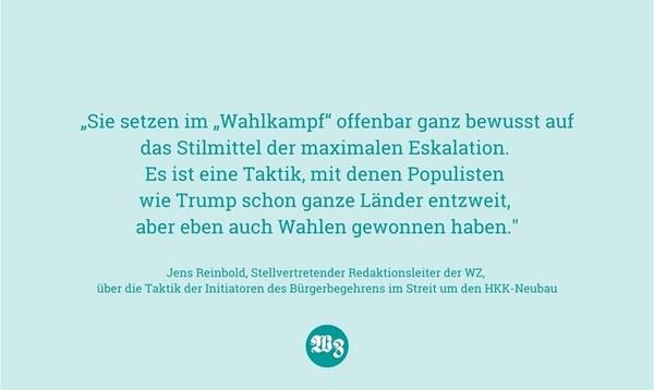Maximale Eskalation - Meinung - Walsroder Zeitung