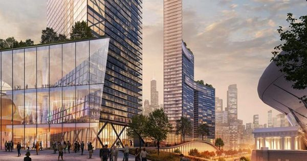 ONE Central proposal for Chicago's lakefront among the most creative ideas in a century