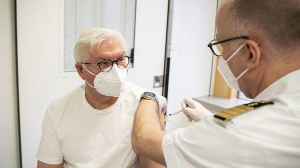 Bundespräsident Steinmeier mit Astrazeneca geimpft