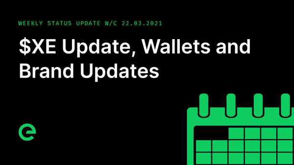 Weekly Update: W/C 22nd March, 2021
