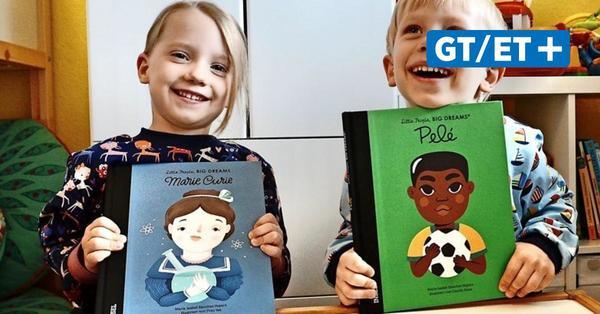 Kinder stellen ihre Lieblingsbücher vor