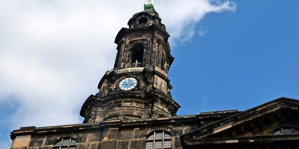 Karsamstag: Gedenken für Corona-Tote in Dresden