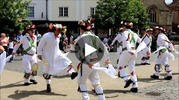 Abingdon Traditional Morris Dancing Princess Royal