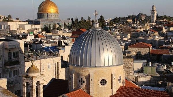 Stille Ostern in Jerusalem: Wo sonst Pilgermassen hinströmen, herrscht nun Ruhe