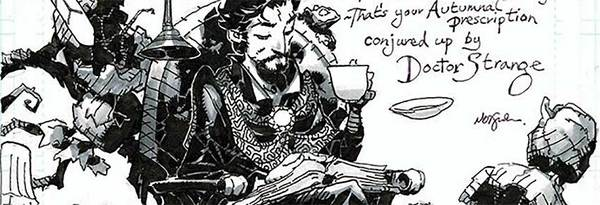 Chris Bachalo & Neil Gaiman - Dr. Strange Original Art