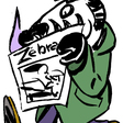 CARICATURE PAR ZOMBI POUR LE WEBZINE BD & CARICATURE ZéBRA