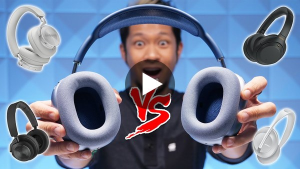 AirPods Max In-Depth Review! Hear the difference vs Sony XM4, Bose 700, & Beoplay H9/H95 Headphones!