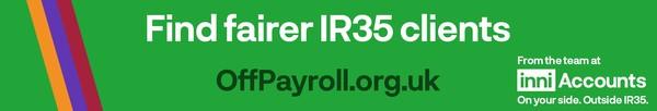 Find fairer IR35 & CV19 clients, agents & brollys. OffPayroll.org.uk