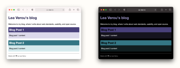 Dark mode in 5 minutes, with inverted lightness variables