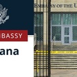 Mensaje de la Embajada de Estados Unidos en Cuba sobre emigración irregular