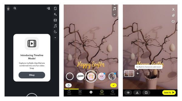 Snapchat released its timeline feature to more Android users