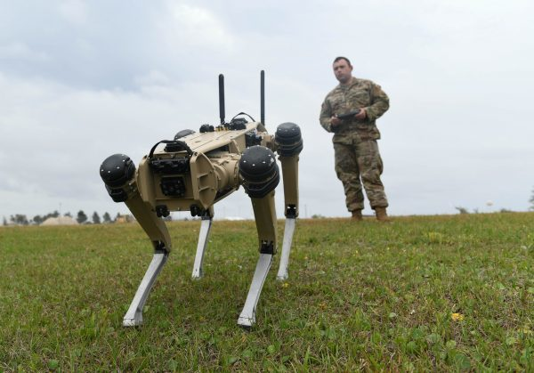 Robot Dogs to Have Their Day — on Florida Base