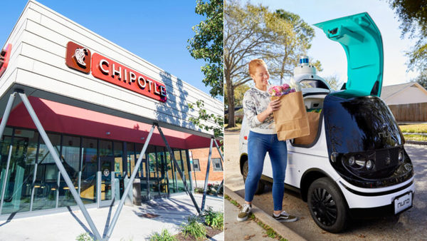 Chipotle invests in self-driving startup Nuro as it prepares for delivery's future