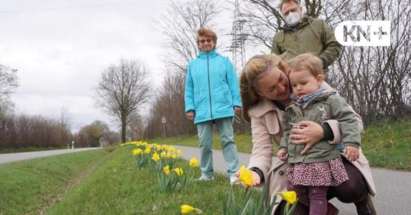 Wählergemeinschaft und Landjugend Kisdorf sorgen für Frühlingsgruß