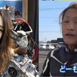 Young female Japanese biker is really 50-year-old man with luscious hair using FaceApp - Mothership.SG - News from Singapore, Asia and around the world