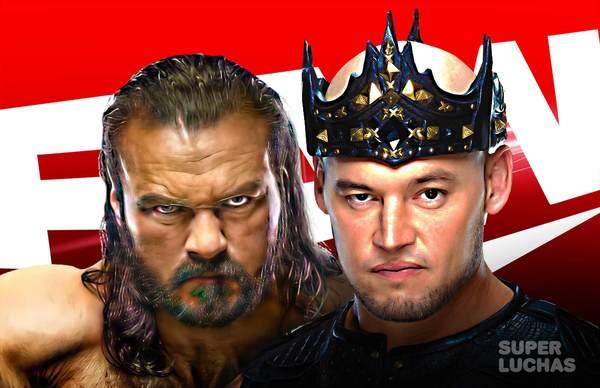 WWE RAW 5 de abril 2021 | Resultados en vivo | Drew McIntyre vs. King Corbin