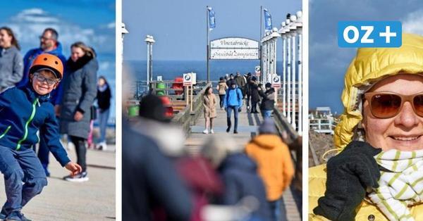 Bilder vom Oster-Wochenende in MV: So schön war es trotz Corona an den Stränden