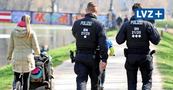 Auf Corona-Streife in Leipziger Parks – Polizei kontrolliert Ostern mit Augenmaß