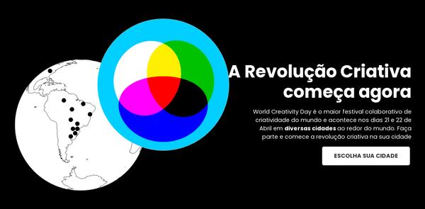 Dia Mundial da Criatividade | WCD Brasil - Faça parte da Revolução Criativa