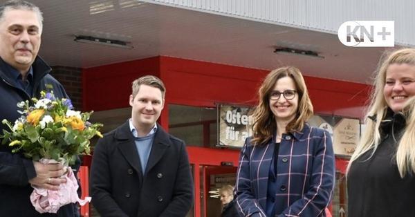 Nach Raub in Gettorf: Überraschung für die Helden von der Supermarktkasse