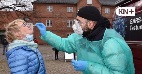 Corona-Teststationen in Rendsburg: Hohe Nachfrage nach Tests