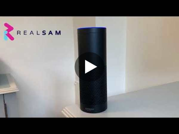 Sneak Peak: RealSAM Smart Speaker Skill for Blind People on Alexa. Presale Now On!