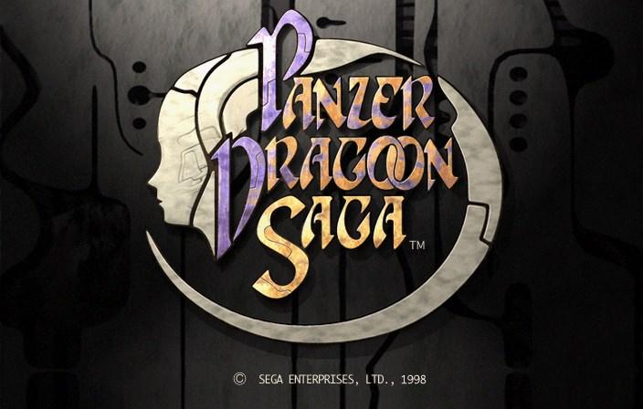 Title Screen via Panzer Dragoon Legacy