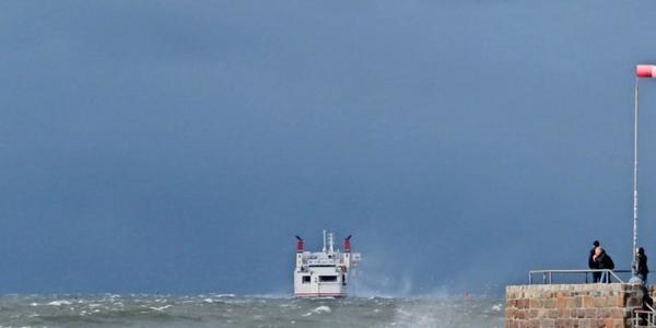 Aprilwetter in MV: Sturmböen und Glätte in der Nacht zu Mittwoch, 7. April 2021, erwartet