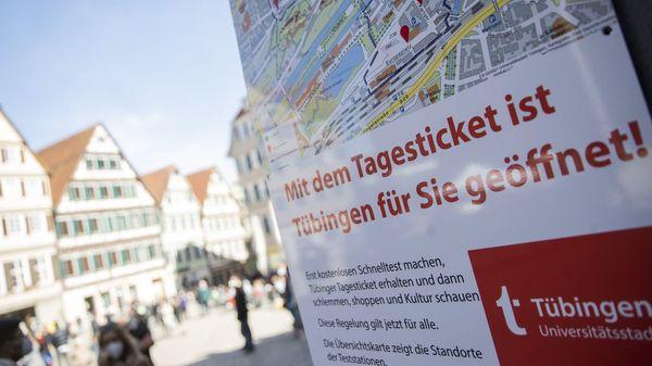 Trotz steigender Infektionszahlen: Tübingen darf Modellprojekt fortsetzen