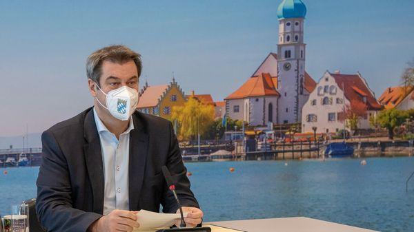 K-Frage: Söder als Kanzlerkandidat? Mehrere CDU-Bundestagsabgeordnete sind dafür