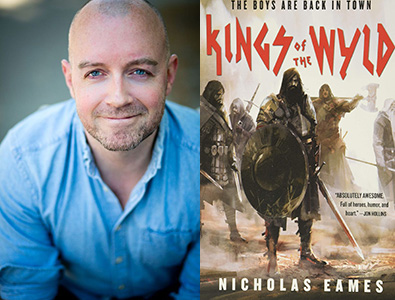 Author Nicolas Eames and Kings of the Wyld