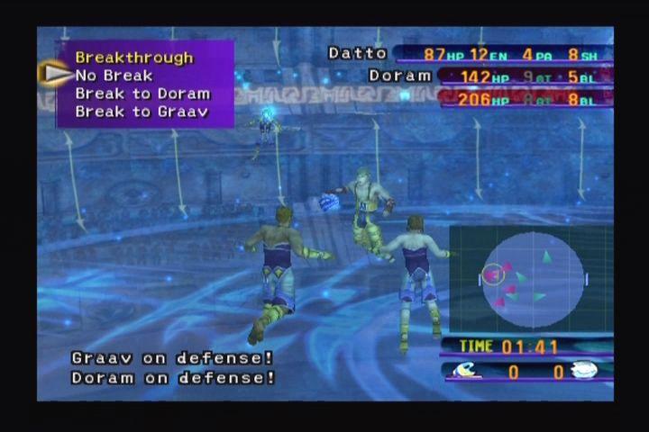 Blitzball in Final Fantasy X. Screenshot via MobyGames
