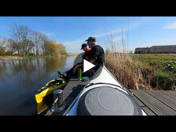 WOUBRUGGE - Rondje Kayakken naar het Braassemmermeer en de Drecht en terug (video)