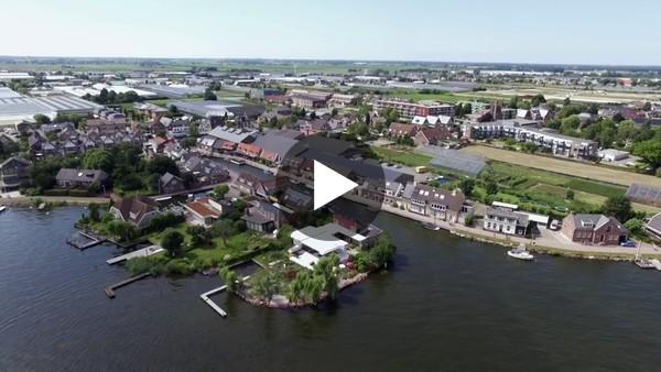 ROELOFARENDSVEEN - Drone vlucht rond de sluis (video)