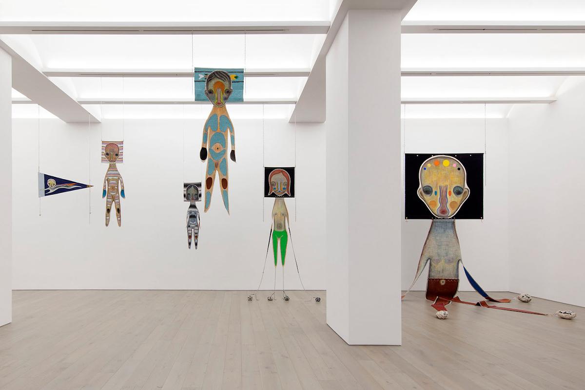 "Installation view, ""Izumi Kato"" at Perrotin, New York, 2021 (photographer: Guillaume Ziccarelli, © 2020 Izumi Kato, courtesy the artist & Perrotin)"