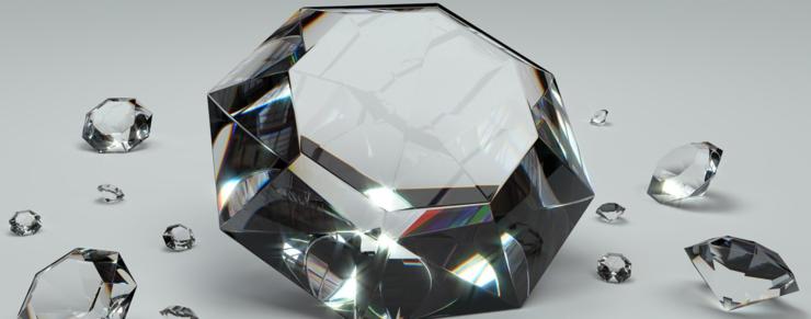Nye diamanter overgår naturlige