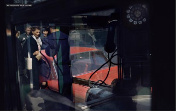 Ernst Haas, New York City, USA 1962.